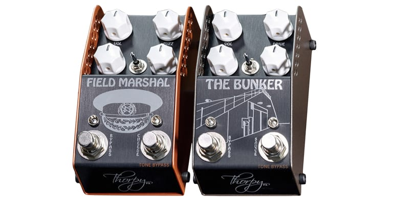 Thorpy FX Field Marshal & Bunker recreate two classic Lovetone pedals for 2020