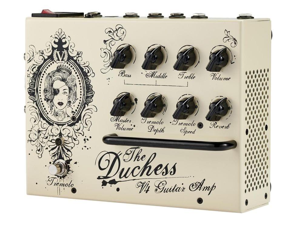 Victory V4 Duchess pedal amp 180-watt Class D