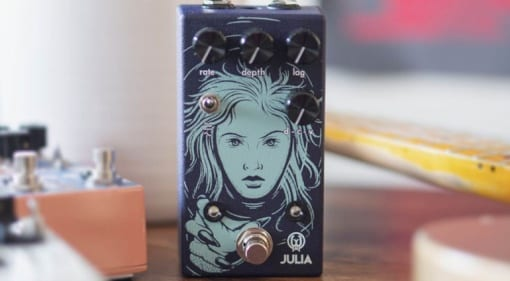 Walrus Audio Julia V2 analogue chorus:vibrato pedal