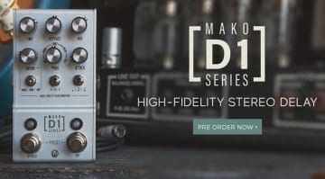 Walrus Audio MAKO Series - D1 High-Fidelity Stereo Delay