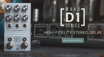 Walrus Audio MAKO Series - D1 High-Fidelity Stereo Delay