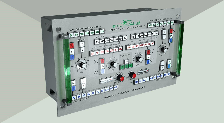 acustica audio emerald 2 Equalizer