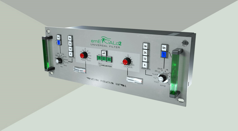 acustica audio emerald 2 filter