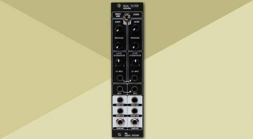 ADDAC604 Dual Filter
