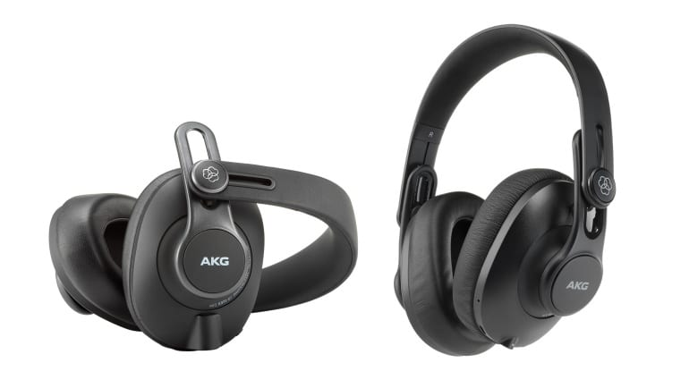 AKG K371-BT and K361-BT headphones