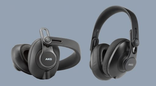 AKG K371-BT and K361-BT headphones