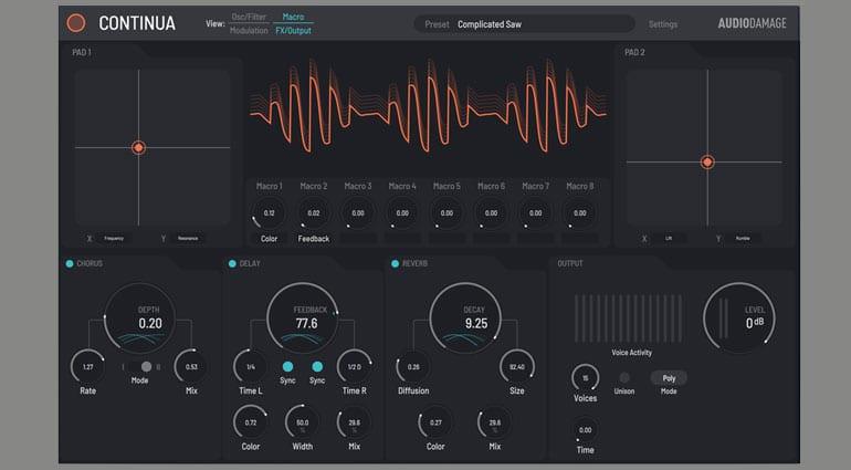 Audio Damage Continua