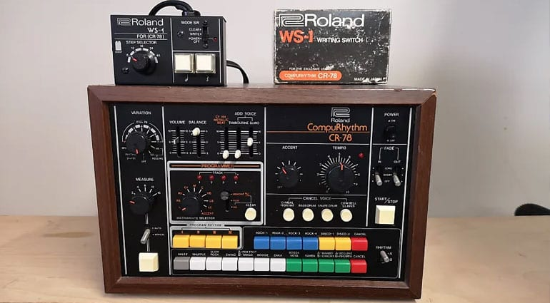 Roland CR78 with WS-1