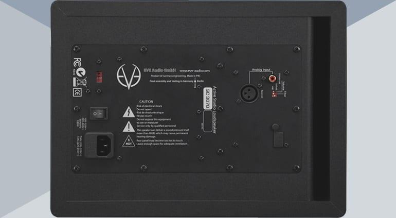 EVE Audio SC3070 rear