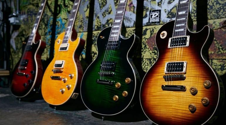 Gibson Slash Collection Les Paul models