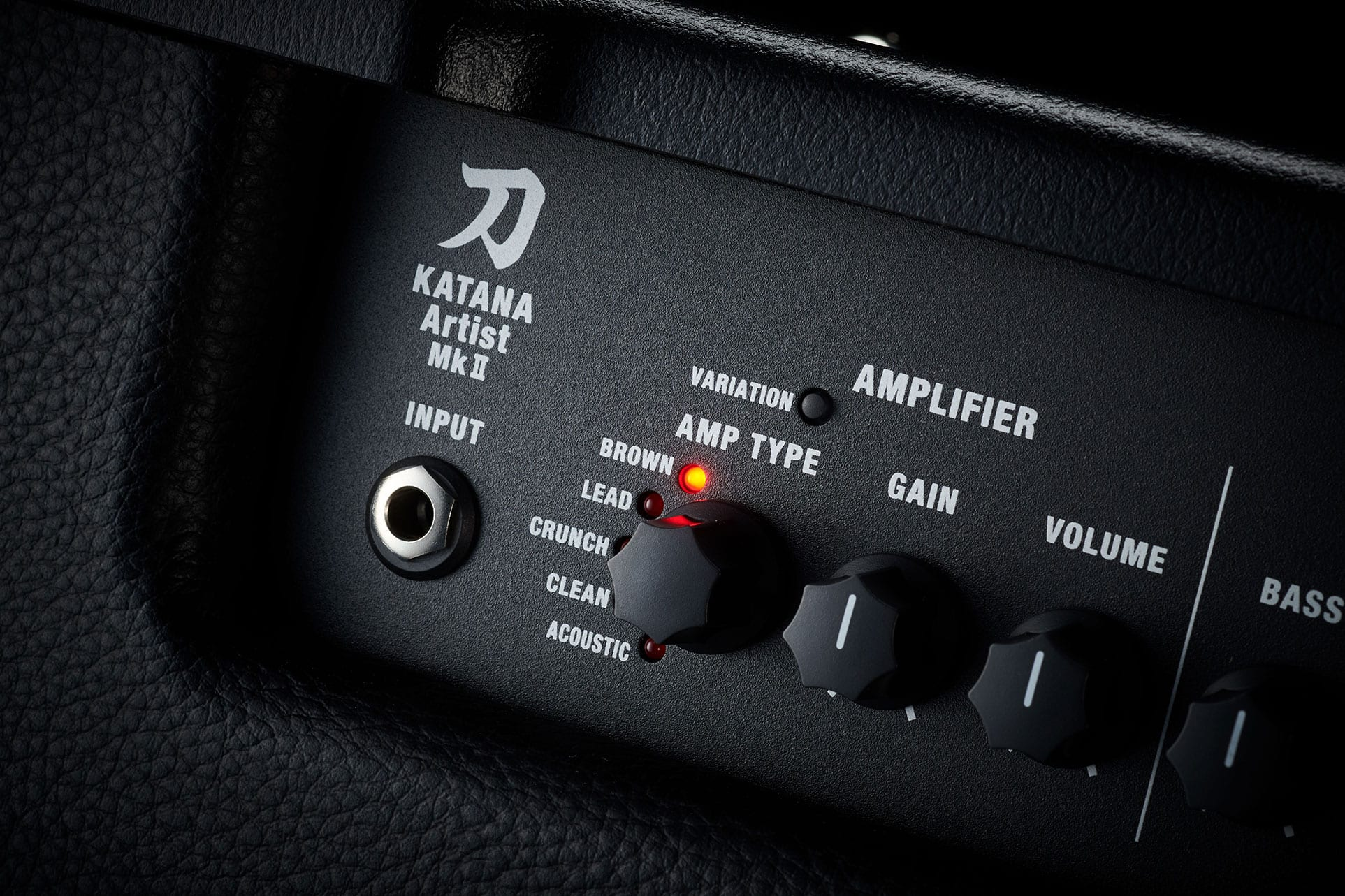 Boss Katana-Artist MKII new amp variations switch