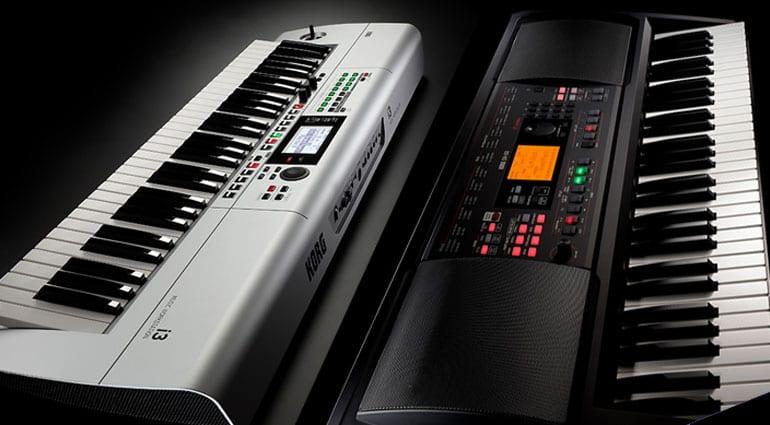 Korg i3 and EK-50 L