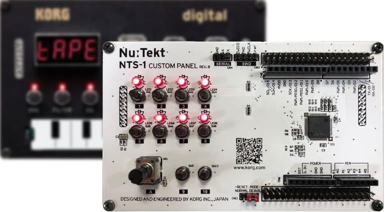 Korg NTS-1 Custom Panel