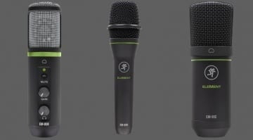 Mackie Elements microphones
