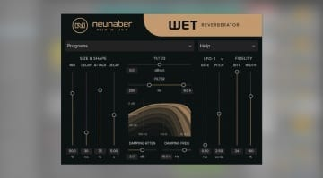 Neunaber Audio Wet Reverberator plug-in