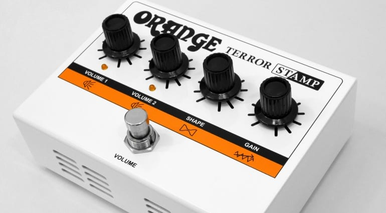 Orange Terror Stamp an amp in pedal format