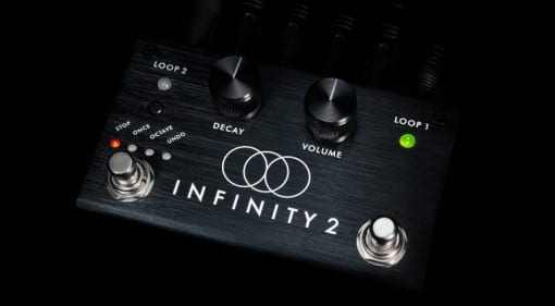 Pigtronix Infinity 2 redesigned looper pedal