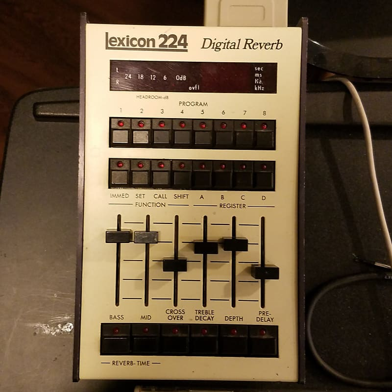 1978 Lexicon 224 Digital Reverb