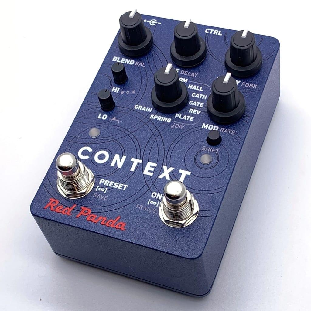 Red Panda Context V2 Reverb pedal