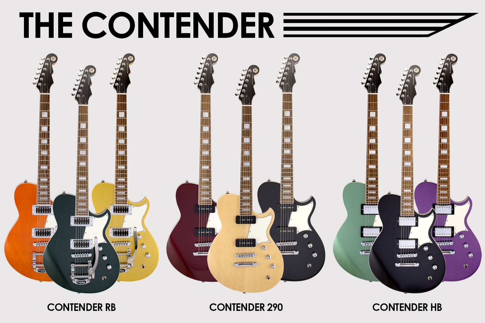 Reverend Guitars Contender