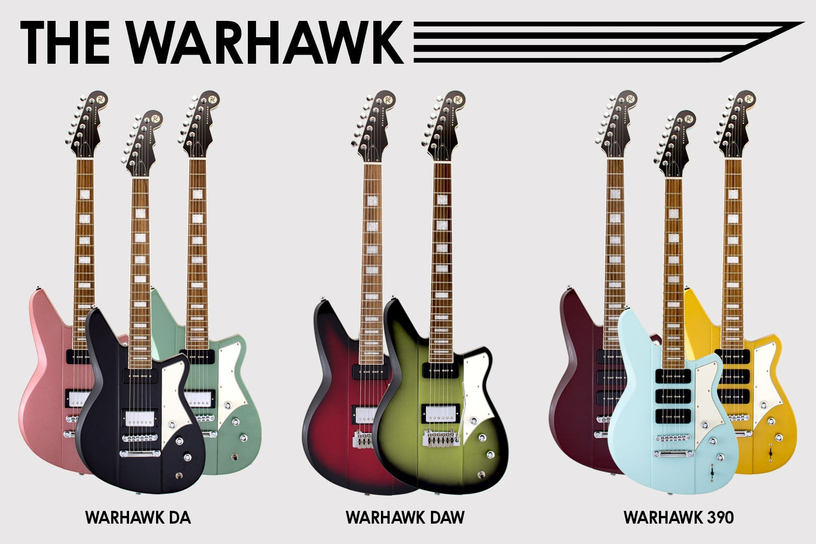 Reverend Guitars Warhawk