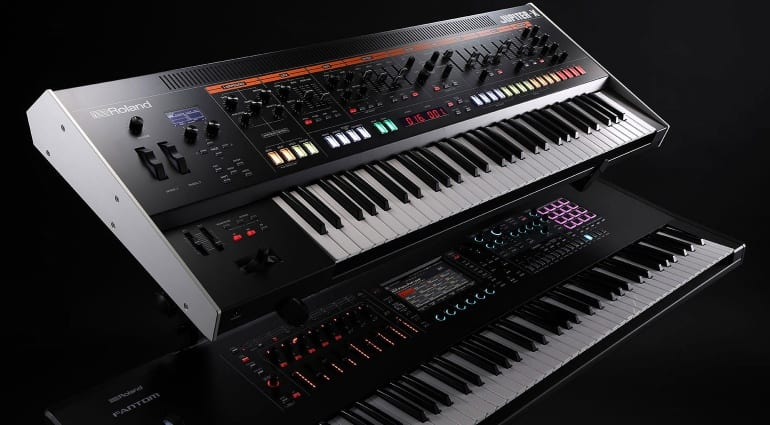 Roland Jupiter-X and Fantom