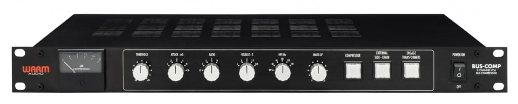 Warm Audio Bus Comp bus compressor rack gear