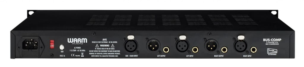 Warm Audio BUS-COMP bus compressor front