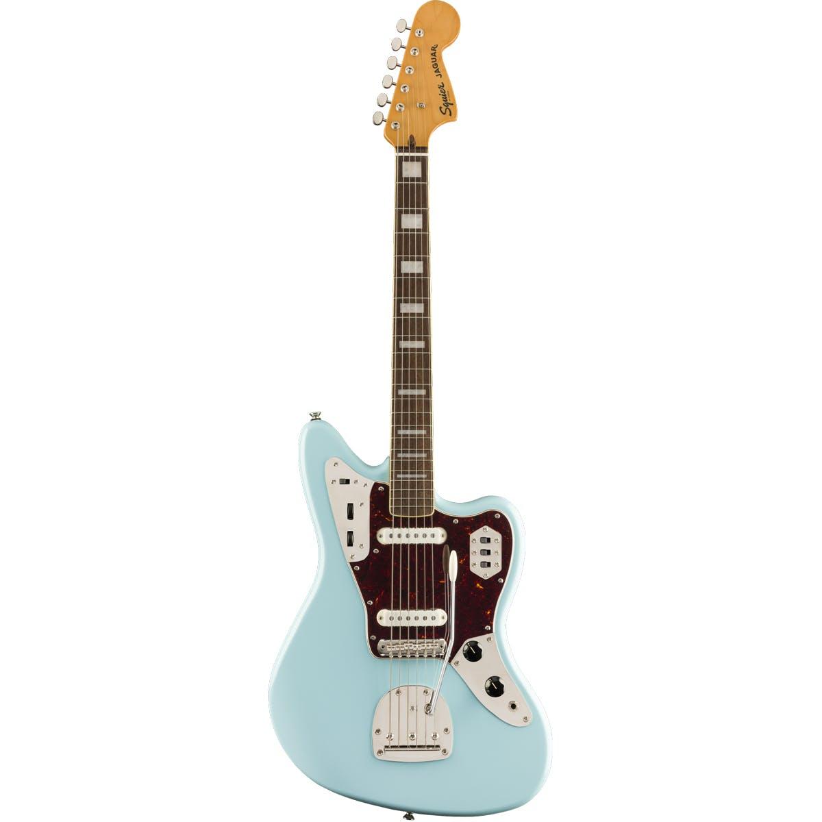 Squier FSR Classic Vibe '70s Jaguar Daphne Blue