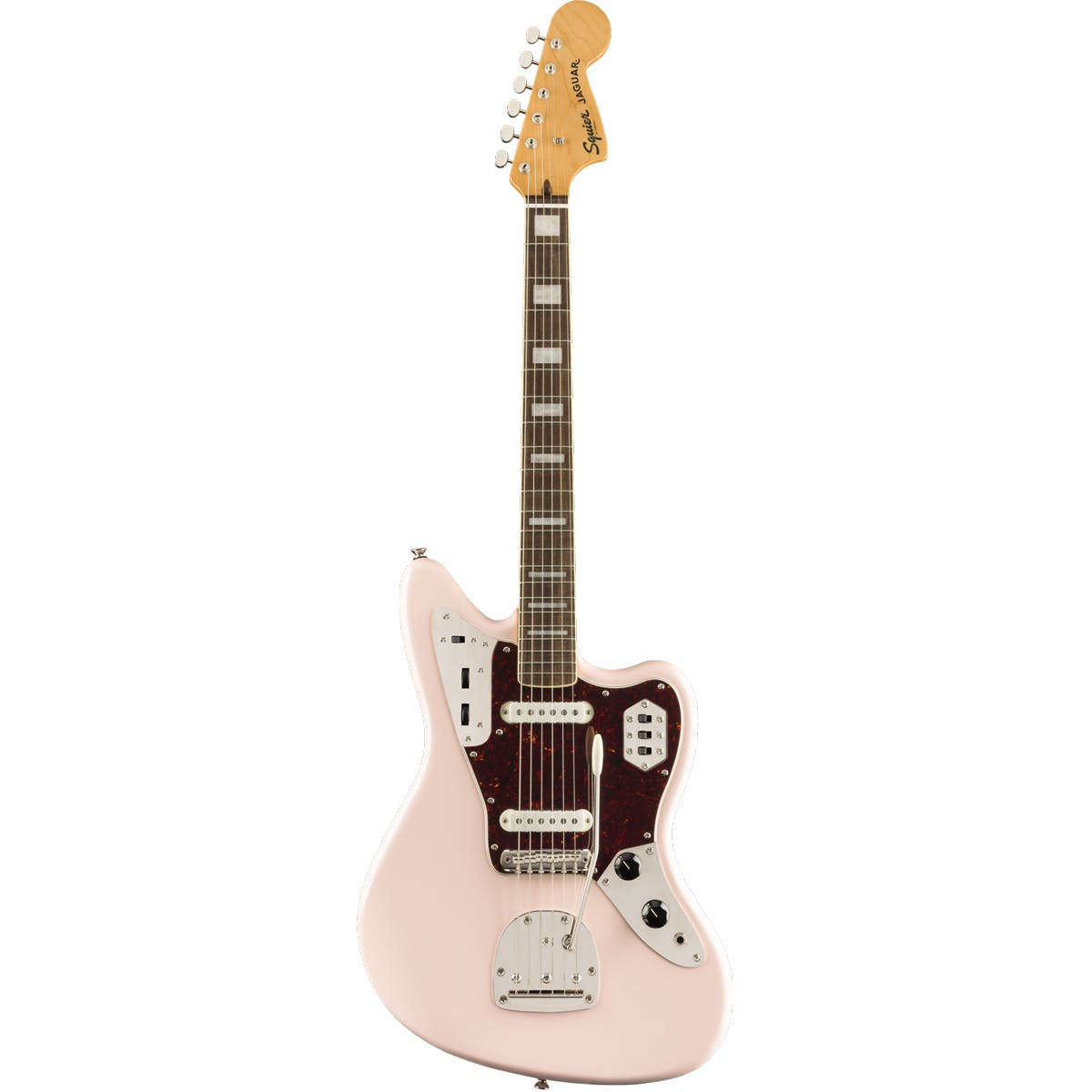 Squier FSR Classic Vibe '70s Jaguar Shell Pink