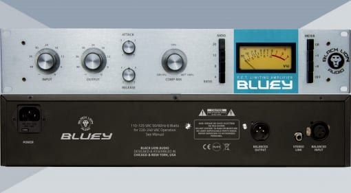 Black Lion Audio Bluey Front, Back