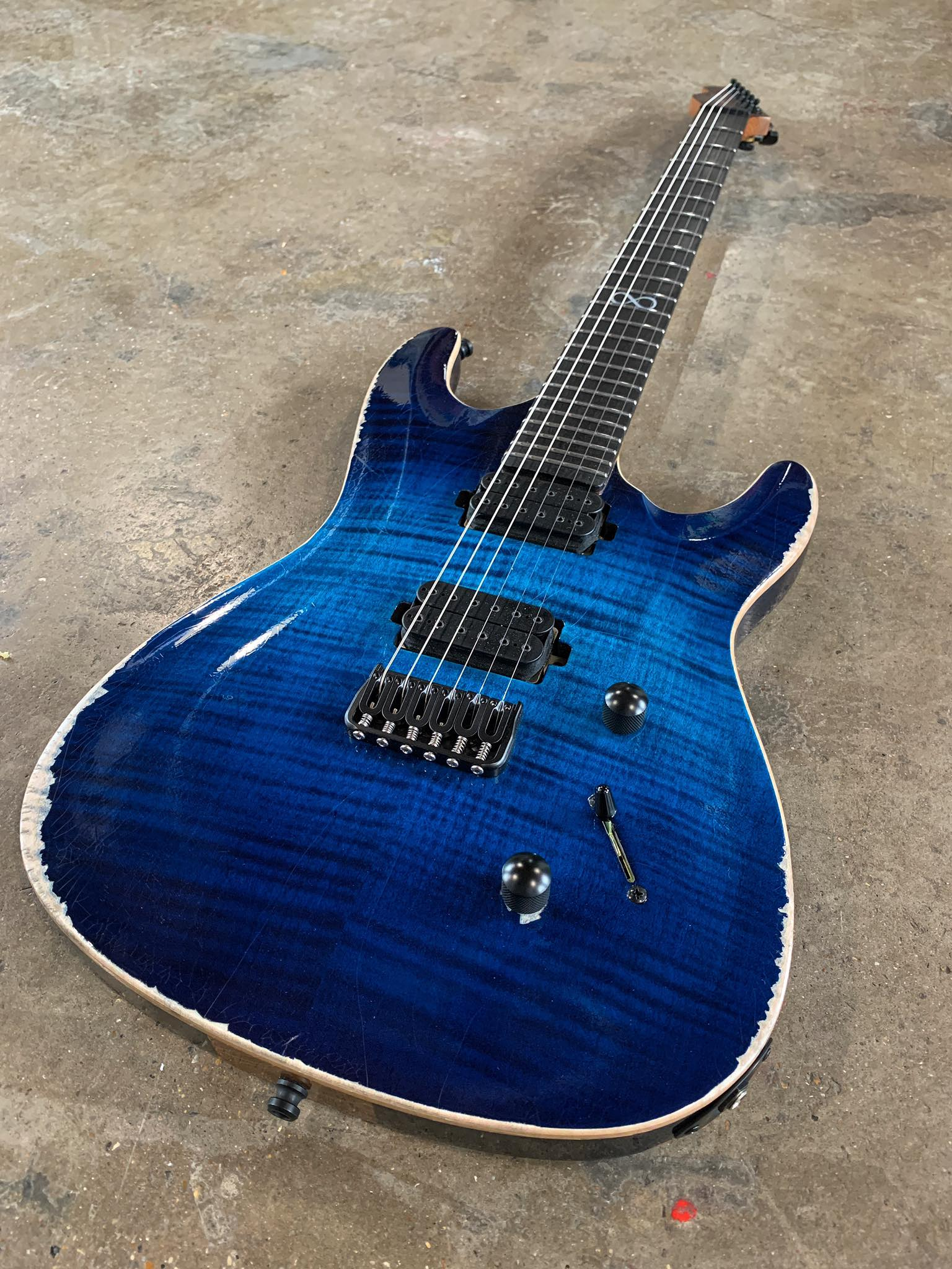 Chapman Guitars limited-edition Battleworn ML1 Pro