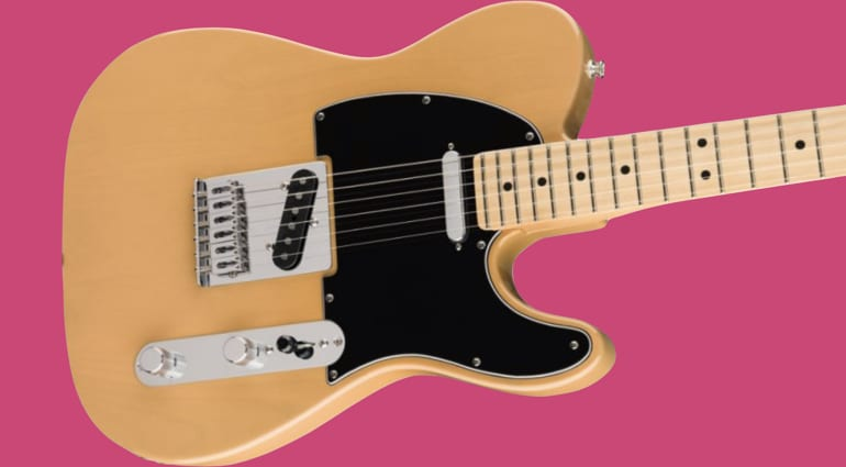 Fender Blonde Player Tele with Custom Shop '51 Nocaster pickups limited edition run