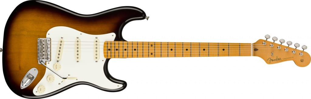 Fender Eric Johnson Virginia Stratocaster Artist Signature with an ofset-seam sassafras