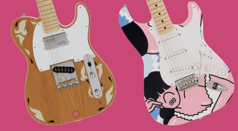 Fender Made In Japan Art Gallery Tele and Strat