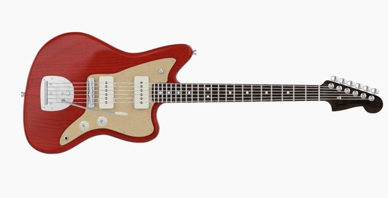 Fender Mod Shop Jazzmaster rosewood neck