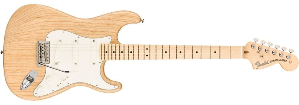 Fender limited-edition Raw Ash American Performer Stratocaster