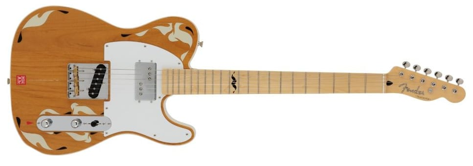 Made In Japan Art Gallery CollectionMHAKTelecaster