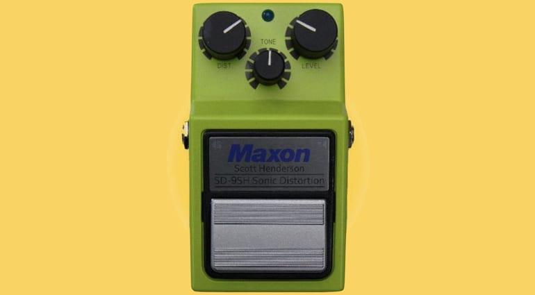 Maxon Scott Henderson SD-9SH Sonic Distortion - The best distortion in the world?
