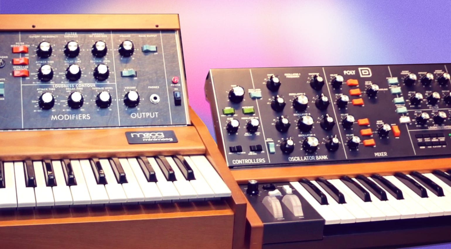 Behringer Poly D Or Minimoog Watch The Shoot Out Video And Vote Gearnews Com What if there were a polyphonic minimoog? behringer poly d or minimoog watch the