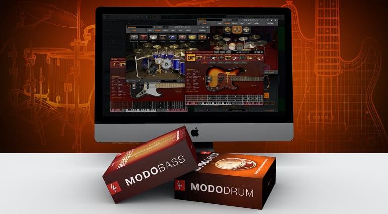 IK Multimedia MODO Bass and MODO Drum