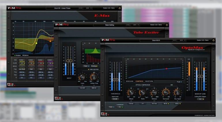 Plug And Mix Pro Series