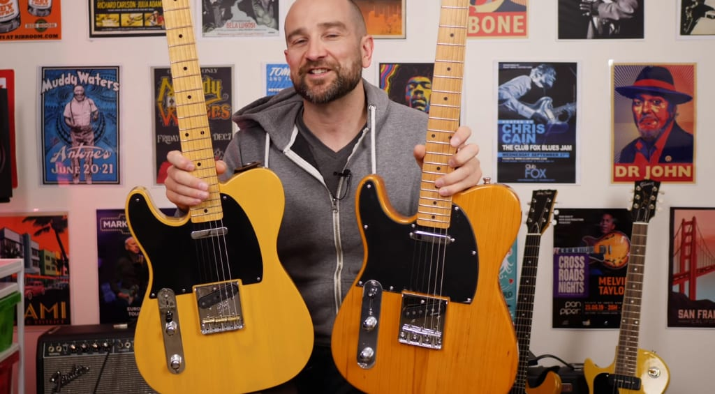 Fender Telecaster vs Harley Benton TE: Can you tell the difference?