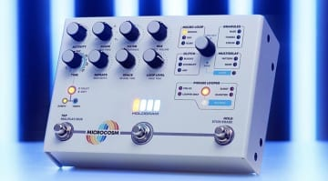 Hologram Electronics Microcosm Granular Pedal