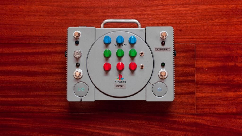 PedalStation 1 - Sony Playstation effects pedal