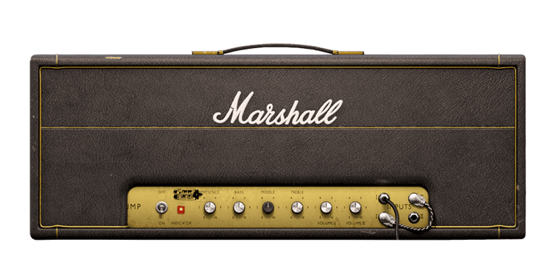 Softube's recreation of a classic Marshall Plexi from 1967
