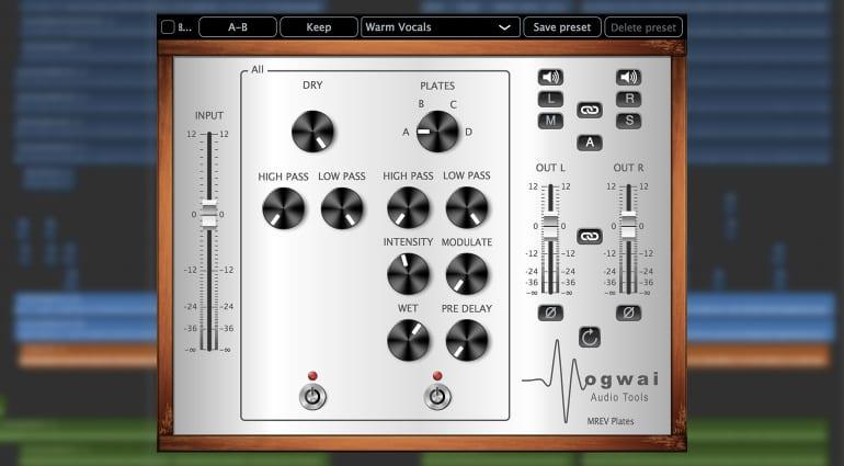 Mogwai Audiotools MREV Plates