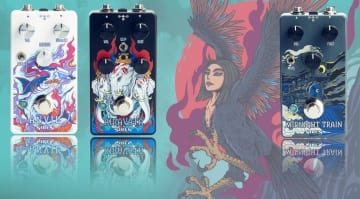 Siren Pedals launches Airavata, Anvil and Midnight Train