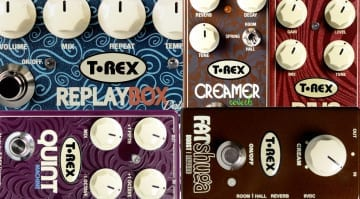 T Rex Effect pedal deal at Thomann