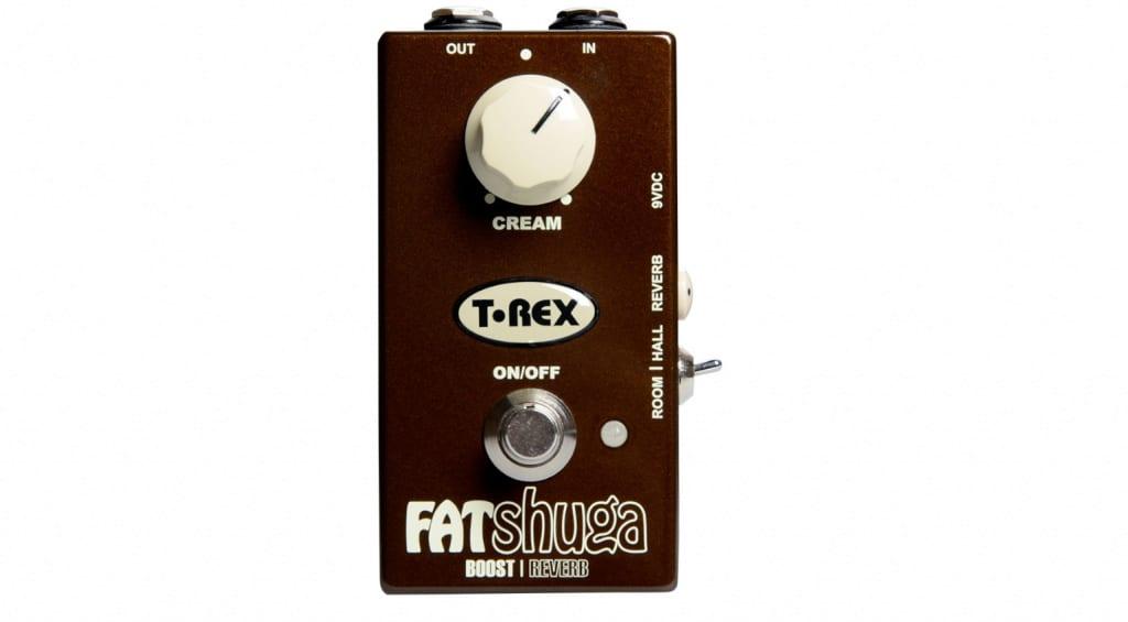 T-Rex Fat Shuga Overdrive + Reverb